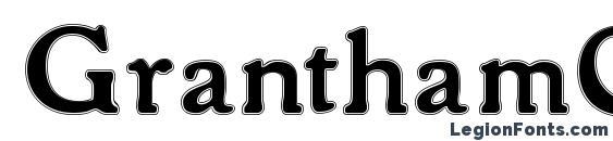 Шрифт GranthamOutline