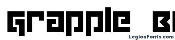Grapple BRK Font, Stylish Fonts