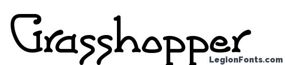 Grasshopper Font, Cool Fonts