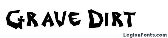 Grave Dirt Font