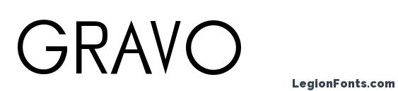 GRAVO Font
