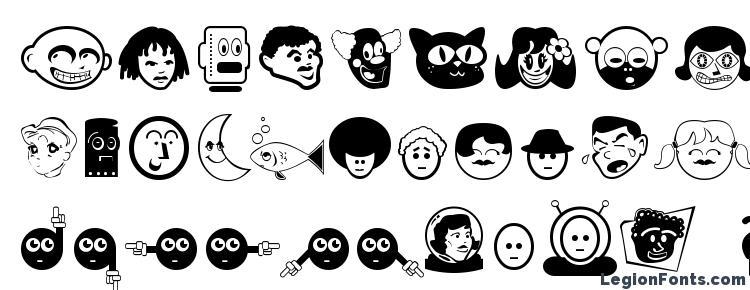 глифы шрифта Greah, символы шрифта Greah, символьная карта шрифта Greah, предварительный просмотр шрифта Greah, алфавит шрифта Greah, шрифт Greah