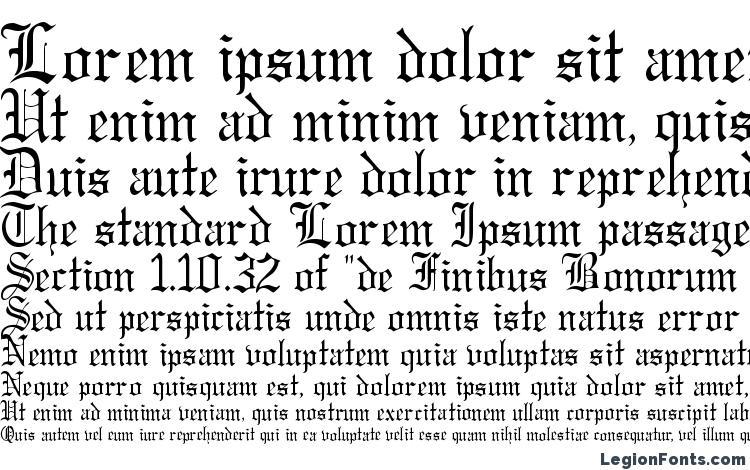 specimens Gregorian Regular DB font, sample Gregorian Regular DB font, an example of writing Gregorian Regular DB font, review Gregorian Regular DB font, preview Gregorian Regular DB font, Gregorian Regular DB font
