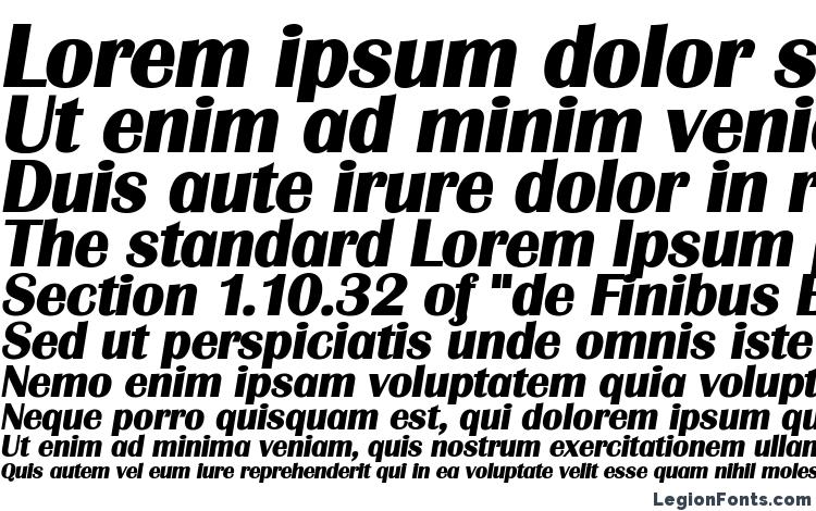 specimens Grenoble Heavy SF Bold Italic font, sample Grenoble Heavy SF Bold Italic font, an example of writing Grenoble Heavy SF Bold Italic font, review Grenoble Heavy SF Bold Italic font, preview Grenoble Heavy SF Bold Italic font, Grenoble Heavy SF Bold Italic font