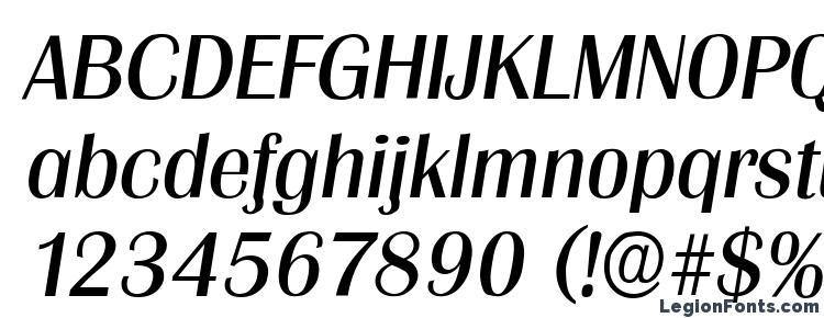 глифы шрифта Grenoble Italic, символы шрифта Grenoble Italic, символьная карта шрифта Grenoble Italic, предварительный просмотр шрифта Grenoble Italic, алфавит шрифта Grenoble Italic, шрифт Grenoble Italic