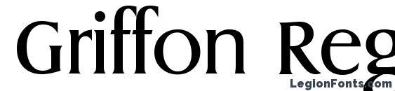 Griffon Regular Font