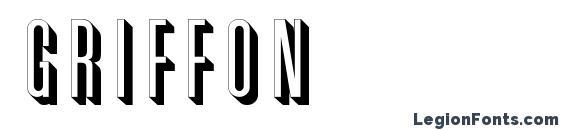Шрифт Griffon