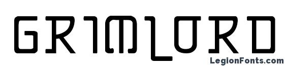 Grimlord Font