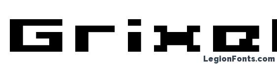 Шрифт Grixel Acme 5 Wide Bold Xtnd