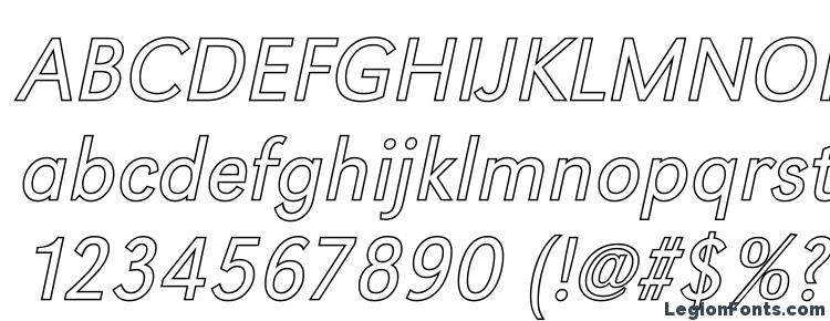 глифы шрифта GroteskOu Light Italic, символы шрифта GroteskOu Light Italic, символьная карта шрифта GroteskOu Light Italic, предварительный просмотр шрифта GroteskOu Light Italic, алфавит шрифта GroteskOu Light Italic, шрифт GroteskOu Light Italic