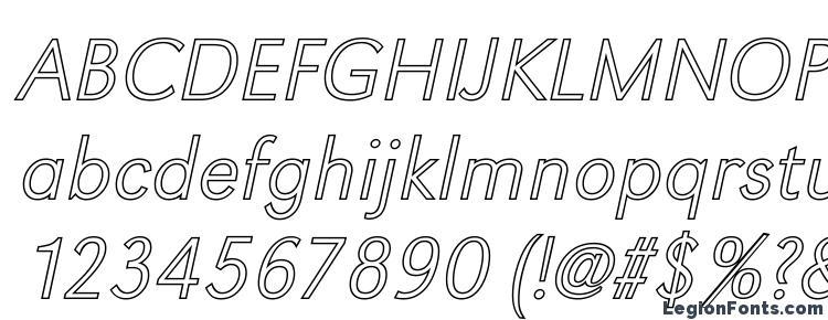 глифы шрифта GroteskOu Xlight Italic, символы шрифта GroteskOu Xlight Italic, символьная карта шрифта GroteskOu Xlight Italic, предварительный просмотр шрифта GroteskOu Xlight Italic, алфавит шрифта GroteskOu Xlight Italic, шрифт GroteskOu Xlight Italic