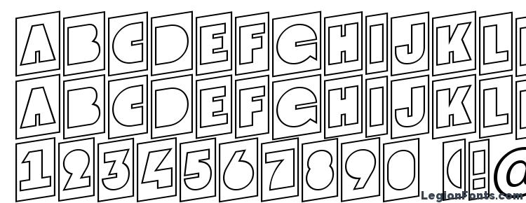 glyphs Grotocmotlup regular font, сharacters Grotocmotlup regular font, symbols Grotocmotlup regular font, character map Grotocmotlup regular font, preview Grotocmotlup regular font, abc Grotocmotlup regular font, Grotocmotlup regular font