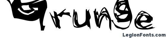 Grunge (2) Font