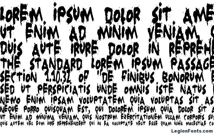 specimens Grunt Reaper font, sample Grunt Reaper font, an example of writing Grunt Reaper font, review Grunt Reaper font, preview Grunt Reaper font, Grunt Reaper font
