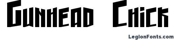 Gunhead Chick Font