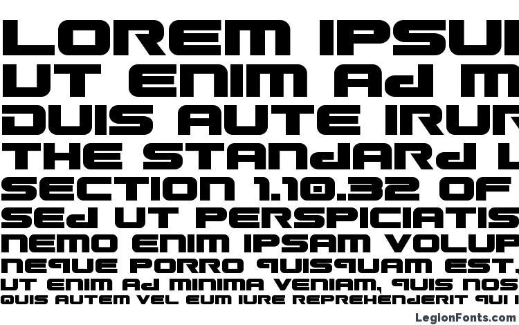 specimens Gunship bold font, sample Gunship bold font, an example of writing Gunship bold font, review Gunship bold font, preview Gunship bold font, Gunship bold font