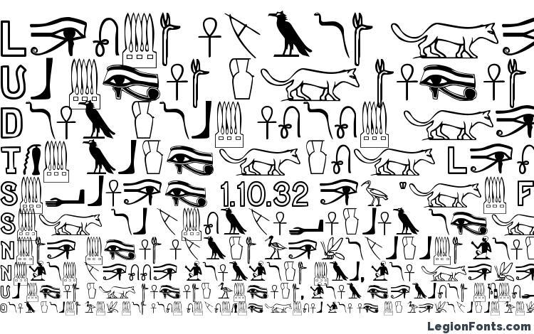 specimens Gyptiennenormal font, sample Gyptiennenormal font, an example of writing Gyptiennenormal font, review Gyptiennenormal font, preview Gyptiennenormal font, Gyptiennenormal font