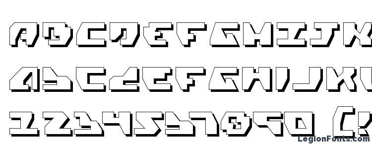 glyphs Gyrfalcon 3D font, сharacters Gyrfalcon 3D font, symbols Gyrfalcon 3D font, character map Gyrfalcon 3D font, preview Gyrfalcon 3D font, abc Gyrfalcon 3D font, Gyrfalcon 3D font