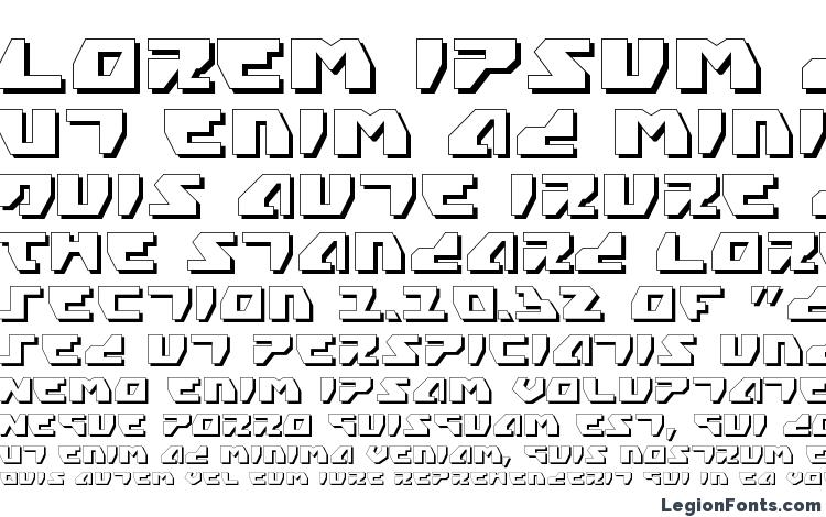 specimens Gyrfalcon 3D font, sample Gyrfalcon 3D font, an example of writing Gyrfalcon 3D font, review Gyrfalcon 3D font, preview Gyrfalcon 3D font, Gyrfalcon 3D font