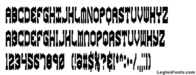 glyphs Gyrose Squeeze BRK font, сharacters Gyrose Squeeze BRK font, symbols Gyrose Squeeze BRK font, character map Gyrose Squeeze BRK font, preview Gyrose Squeeze BRK font, abc Gyrose Squeeze BRK font, Gyrose Squeeze BRK font