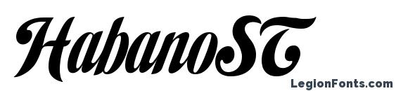 Шрифт HabanoST