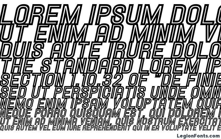 specimens Hallandale Inline Italic JL font, sample Hallandale Inline Italic JL font, an example of writing Hallandale Inline Italic JL font, review Hallandale Inline Italic JL font, preview Hallandale Inline Italic JL font, Hallandale Inline Italic JL font