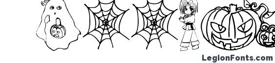 Шрифт Halloween2001