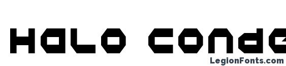 Halo Condensed Font