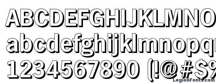 glyphs HamburgShadow Bold font, сharacters HamburgShadow Bold font, symbols HamburgShadow Bold font, character map HamburgShadow Bold font, preview HamburgShadow Bold font, abc HamburgShadow Bold font, HamburgShadow Bold font