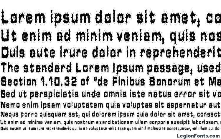 specimens Hammered Type font, sample Hammered Type font, an example of writing Hammered Type font, review Hammered Type font, preview Hammered Type font, Hammered Type font