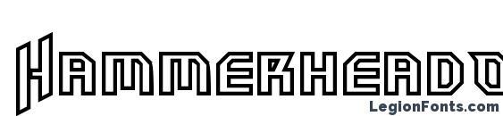 HammerheadOutline Font