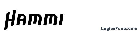 Hammi Font
