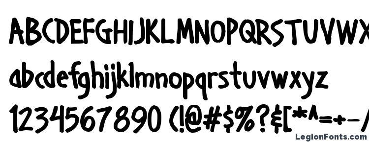 глифы шрифта Handage AOE Bold, символы шрифта Handage AOE Bold, символьная карта шрифта Handage AOE Bold, предварительный просмотр шрифта Handage AOE Bold, алфавит шрифта Handage AOE Bold, шрифт Handage AOE Bold