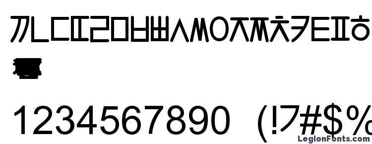 глифы шрифта Hangulgothic, символы шрифта Hangulgothic, символьная карта шрифта Hangulgothic, предварительный просмотр шрифта Hangulgothic, алфавит шрифта Hangulgothic, шрифт Hangulgothic