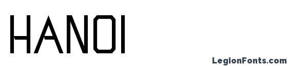 Шрифт Hanoi