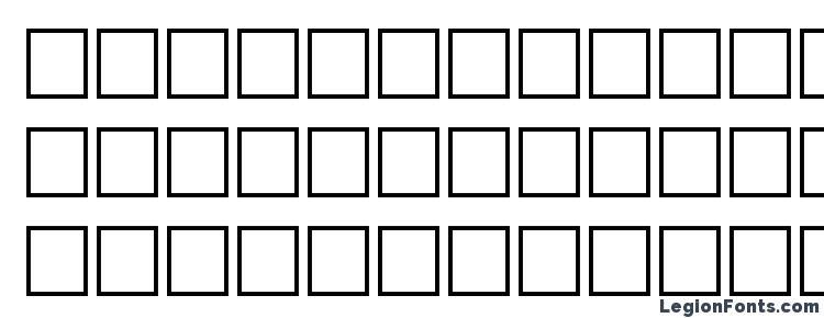 глифы шрифта Hansen regular, символы шрифта Hansen regular, символьная карта шрифта Hansen regular, предварительный просмотр шрифта Hansen regular, алфавит шрифта Hansen regular, шрифт Hansen regular