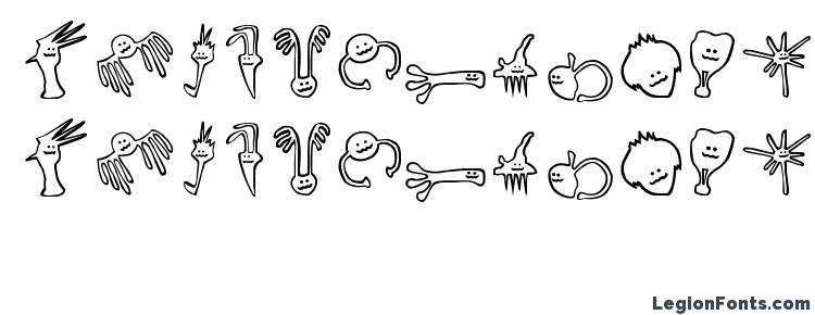глифы шрифта Happy offsprings of plankton, символы шрифта Happy offsprings of plankton, символьная карта шрифта Happy offsprings of plankton, предварительный просмотр шрифта Happy offsprings of plankton, алфавит шрифта Happy offsprings of plankton, шрифт Happy offsprings of plankton