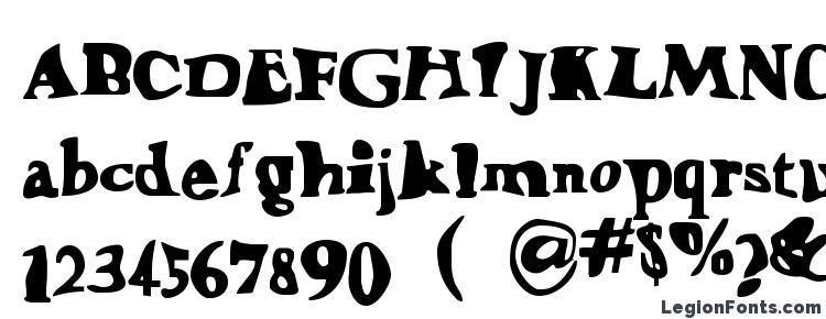 glyphs Happylarry font, сharacters Happylarry font, symbols Happylarry font, character map Happylarry font, preview Happylarry font, abc Happylarry font, Happylarry font