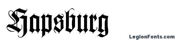 Hapsburg Font