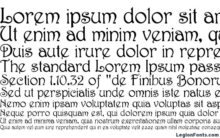 specimens Harrington Medium font, sample Harrington Medium font, an example of writing Harrington Medium font, review Harrington Medium font, preview Harrington Medium font, Harrington Medium font