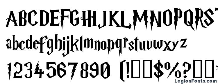 glyphs Harry P font, сharacters Harry P font, symbols Harry P font, character map Harry P font, preview Harry P font, abc Harry P font, Harry P font