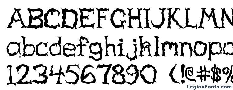 Haunted regular Font Download Free / LegionFonts