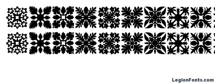 glyphs Hawaiian quilt1 font, сharacters Hawaiian quilt1 font, symbols Hawaiian quilt1 font, character map Hawaiian quilt1 font, preview Hawaiian quilt1 font, abc Hawaiian quilt1 font, Hawaiian quilt1 font