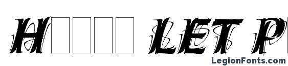 Hazel LET Plain.1.0 Font