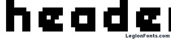 header 08 66 font, free header 08 66 font, preview header 08 66 font