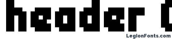 header 08 67 Font