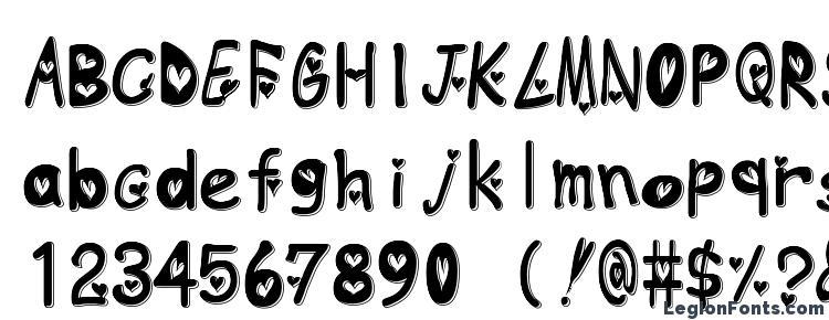 glyphs Heart emboss font, сharacters Heart emboss font, symbols Heart emboss font, character map Heart emboss font, preview Heart emboss font, abc Heart emboss font, Heart emboss font