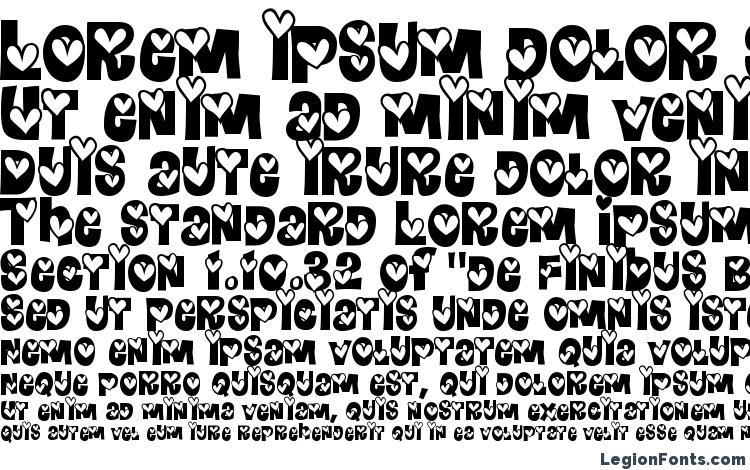 specimens HeartlandRegular font, sample HeartlandRegular font, an example of writing HeartlandRegular font, review HeartlandRegular font, preview HeartlandRegular font, HeartlandRegular font