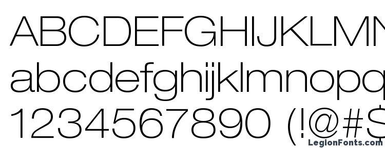 HeaveneticaExtd3 ThinSH Font Download Free / LegionFonts