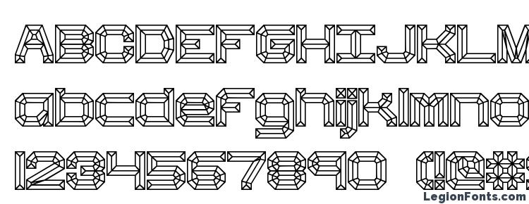 glyphs Heavy Bevel BRK font, сharacters Heavy Bevel BRK font, symbols Heavy Bevel BRK font, character map Heavy Bevel BRK font, preview Heavy Bevel BRK font, abc Heavy Bevel BRK font, Heavy Bevel BRK font